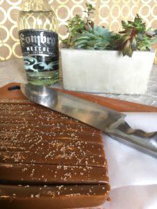 Salted Mezcal Caramels