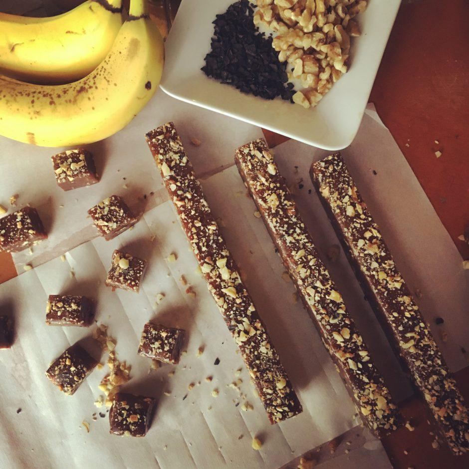 banana nut bread caramels