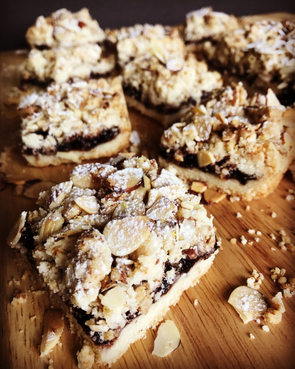 Blackberry Bramble Bars