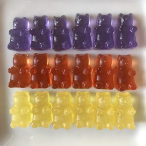 Boozy Cocktail Gummy Bears