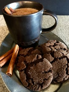 chewy mexican hot chocolate cookies
