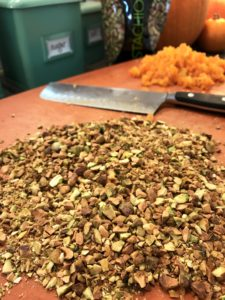 Glazed Apricot-Pistachio Cookies