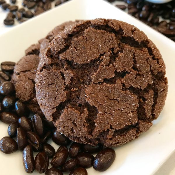 Chewy Chocolate Espresso Cookies