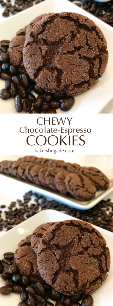 Chewy Chocolate-Espresso Cookies