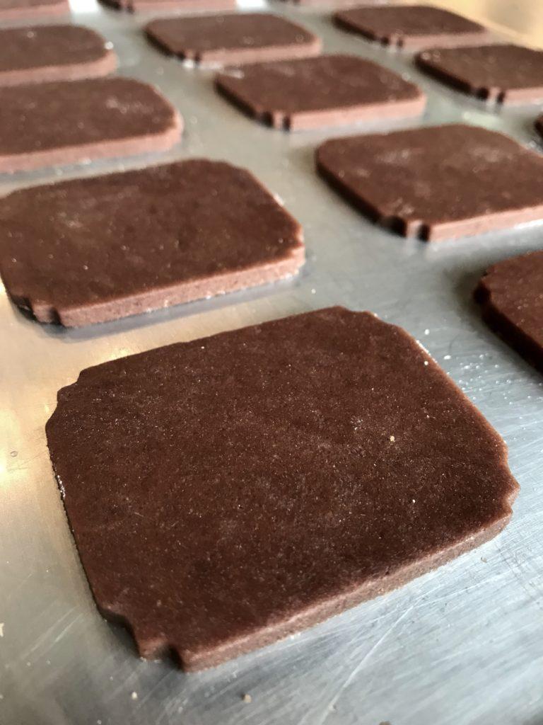 Woodgrain Plaque Cookies