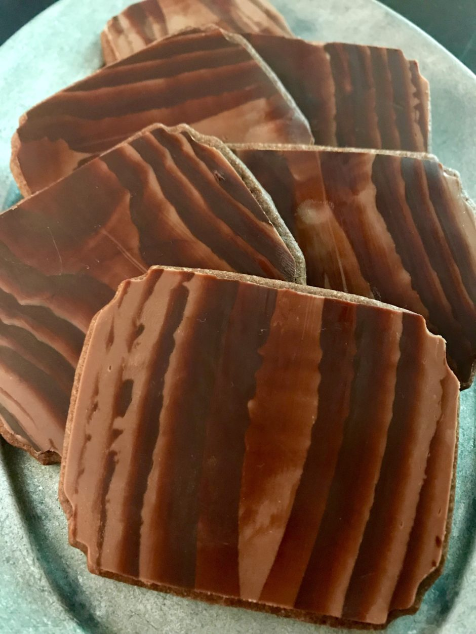 Woodgrain Plaque Cookies