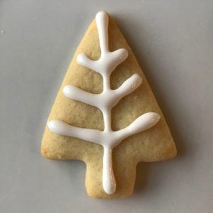 Tinsel Tree Mini Cookies