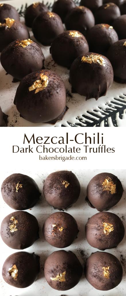 Mezcal-Chili Dark Chocolate Truffles
