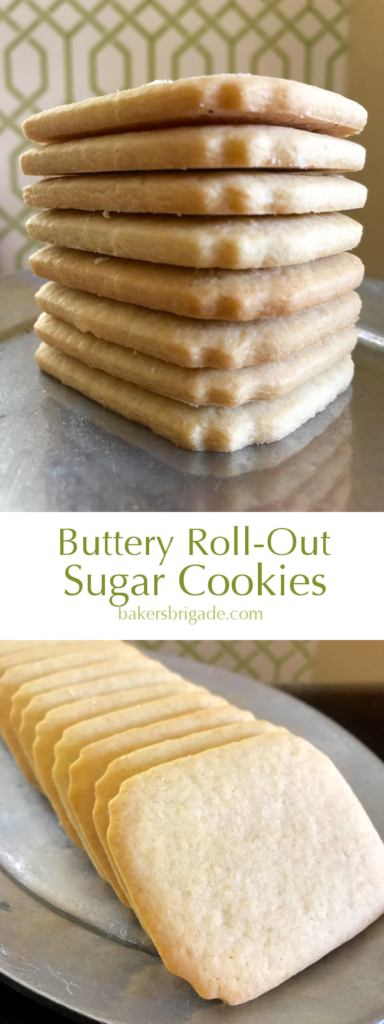 Buttery Roll-Out Sugar Cookies